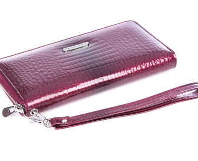 Skórzane portfele damskie